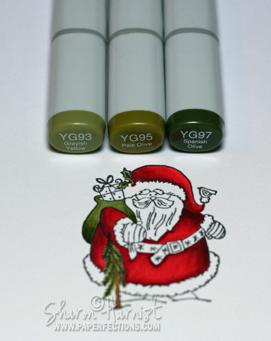 PaperFections: Copic Coloring Tutorial: Santa