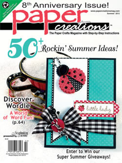 2012 Summer Paper Creations_cover