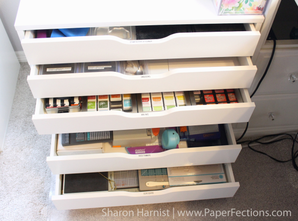 ... within easy reach Acrylic st& blocks Misti St&ing Tool embossing powders mini ink cubes in mini ink storage tins other paper trimmers and punch ... & PaperFections: Studio