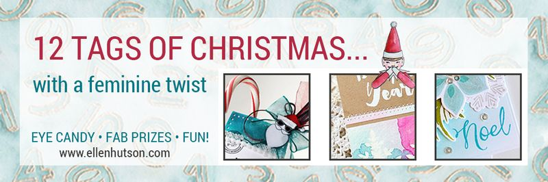 12 Tags of Christmas with a Feminine Twist Graphic 1