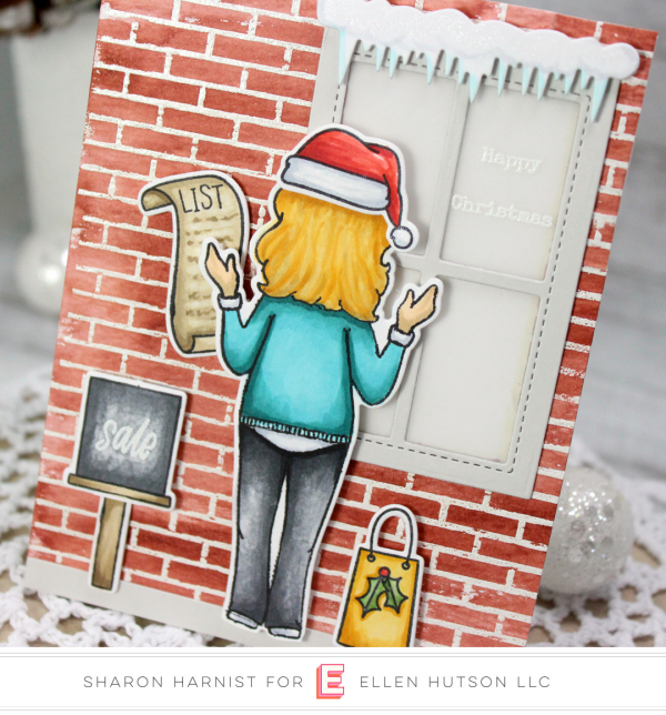 10-9 HolidayLadyWindow-A-SH