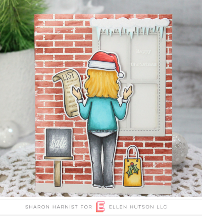 10-9 HolidayLadyWindow-SH